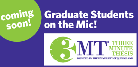 Three Minute Thesis graphic