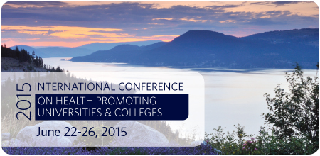 International Conference on Health Promoting Universities and Colleges graphic