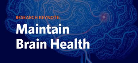 Maintain your brain health graphic