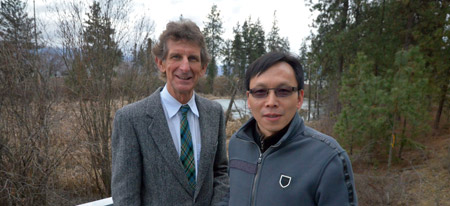 David F. Scott and Adam Wei are co-authors with the Chinese Academy of Sciences in a study that shows that changes in land cover play as significant a role as climate change on the hydrology of watersheds.