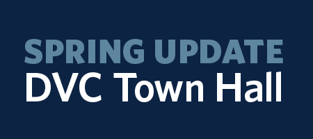 DVC Town Hall graphic