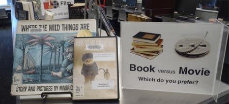 Book vs. Movie photo