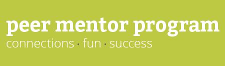 Peer Mentor Program graphic
