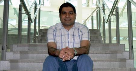Nima Moallemi, PhD student in the School of Engineering