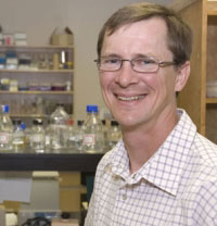 Associate Professor of Chemistry Paul Shipley.