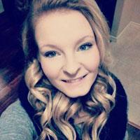 Fourth-year Human Kinetics student Rebecca Hayman