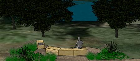 Al King Memorial Trail graphic