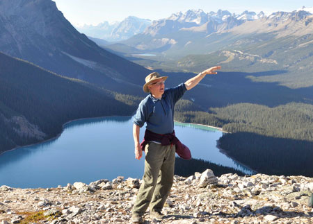 Physical Geography professor Fes de Scally leads applied management of mountain hazards field school in the Rocky Mountains.