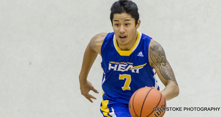 It was a thrilling finish to one of the best Canada West basketball games played at UBC Okanagan thanks to Aldrich Berrios.