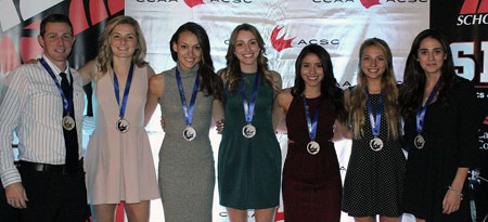 The UBC Okanagan cross country team ran through the cold and a wet track to finish on the podium with a silver medal.
