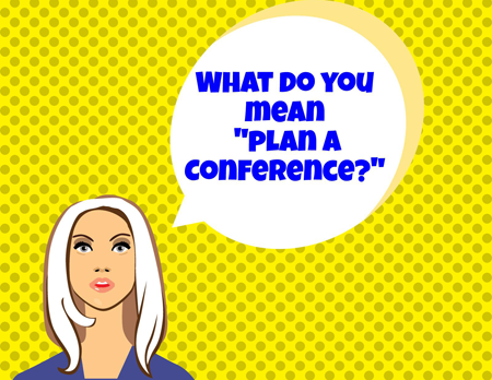 Conference Planning graphic