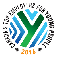 Top Employer for Young People graphic