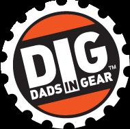 Dads in Gear (DIG) logo