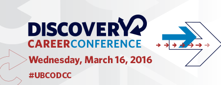 Discovery Career Conference graphic