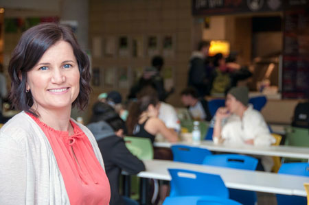 Barber School professor Lesley Lutes is encouraging Canadians to take small steps toward better health.