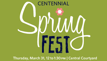 Graphic for Spring Fest