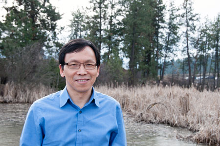 Professor of Earth and Environmental Sciences Adam Wei.