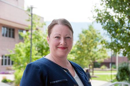 Barber School microbiologist Deanna Gibson