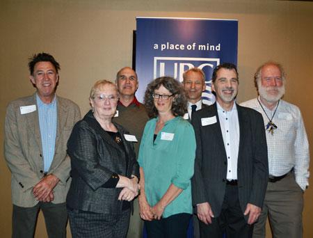 Pictured are: Gary Pearson, Robin Dods, Daniel Dural, Nancy Holmes, Rob Johnson, Bernard Momer and Ian Walker.