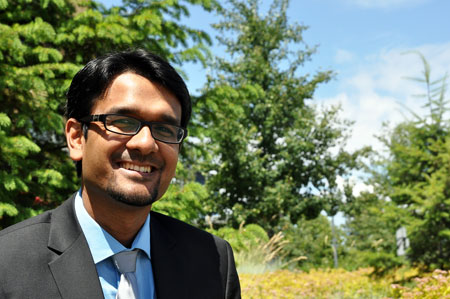 Muntasir Billah has won the 2016 UBC Governor General's Gold Medal—recognition reserved for the student with the highest academic achievement in the College of Graduate Studies.