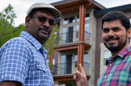 Researchers Kasun Hewage (left) and Mohammad Kamali believe modular construction needs a closer look.