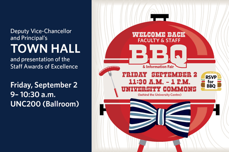 Graphic for Welcome Back BBQ