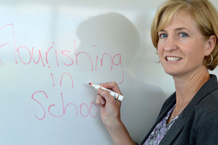 Education prof. Sabre Cherkowski has been studying how teacher wellbeing can influence student performance.