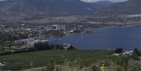 View of the South Okanagan