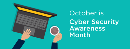 Graphic for Cyber Security Awareness Month