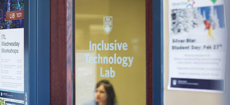 Graphic for Inclusive Technology Lab