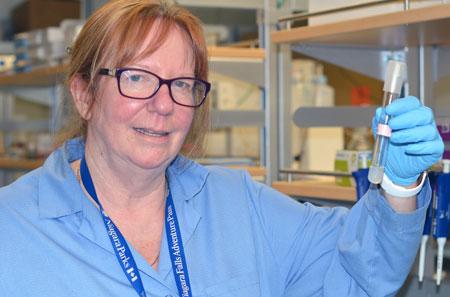 Deborah Roberts, professor of engineering.