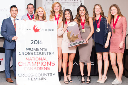 For the second time in four years the UBC Okanagan Heat women's cross country team are the best in the country.
