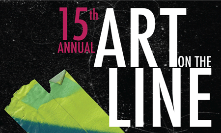 Graphic for Art on the Line