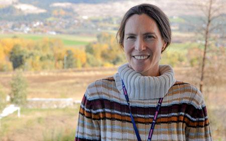 Assistant Professor of Education Catherine Broom.