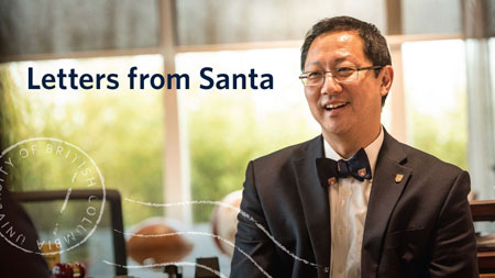 Photo of Prof. Santa Ono