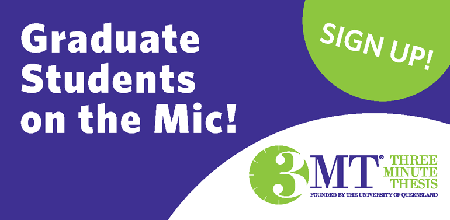Graphic for 3MT competition