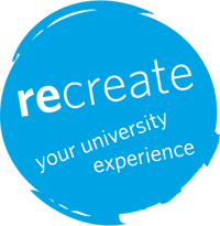 Graphic for ReCreate winter student orientation
