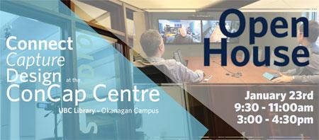 Graphic for CONCAP Centre open house