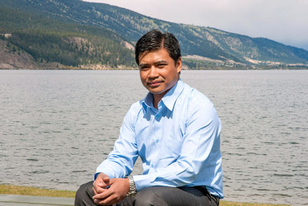 School of Engineering researcher Gyan Chhipi-Shrestha has examined the feasibility of recycling water for laundry, agriculture and fire suppression, easing Canadian's reliance on fresh water lakes.