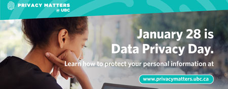Graphic for Data Privacy Day