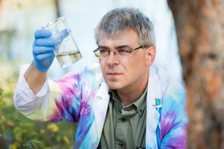 Stephen McNeil, associate professor of chemistry.