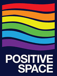 Positive Space Campaign graphic