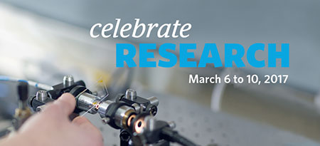 Graphic for Celebrate Research Week 2017