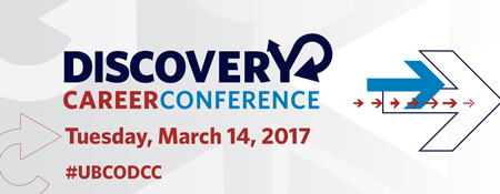 Graphic for Discovery Career Conference