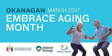 Graphic for Embrace Aging month