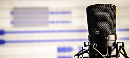 stock photo of microphone