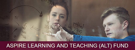 Graphic for Aspire Teaching and Learning Fund