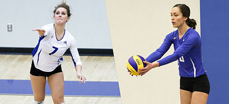 Sara McCreary and Kaitlynn Given have their seasons recognized, as they're named to represent the Heat on two different all-conference teams this year.