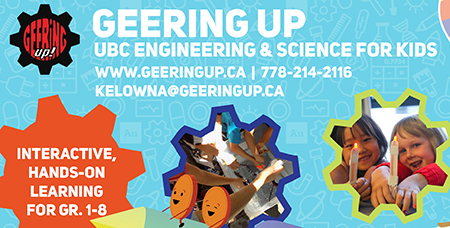 Graphic for GEERing Up summer camps