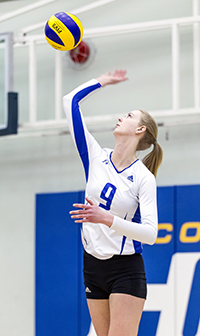 After just one year playing for the Heat, Aidan Lea has been chosen to be a part of Volleyball Canada's Women's National Team.